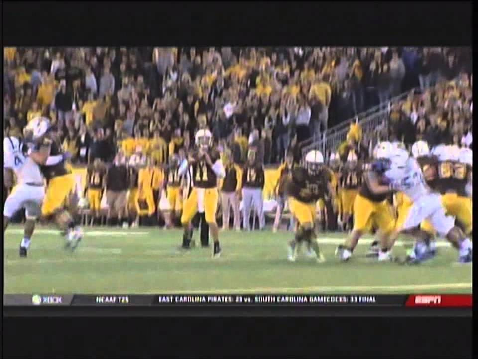 Wyoming vs. Air Force football highlights 2014 - YouTube