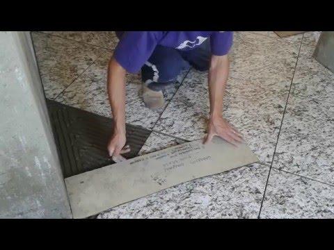 Recortes de piso diagonal muito facil