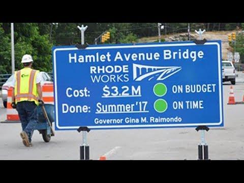 Rebuilding Rhode Island's Infrastructure - Rhode Island Department of Transportation