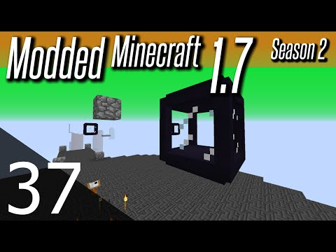 Modded Minecraft 1.7 - S2E37 - Magical Lamps