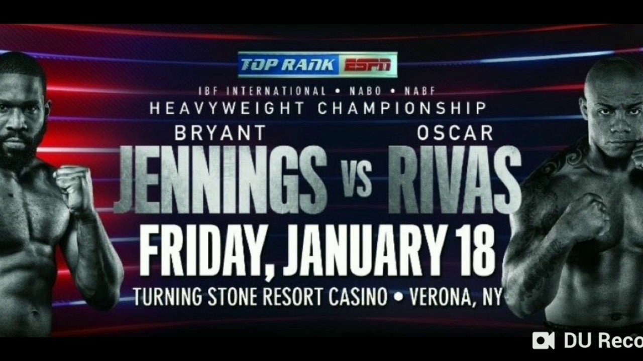Image result for Bryant Jennings vs Oscar Rivas Heavyweight title