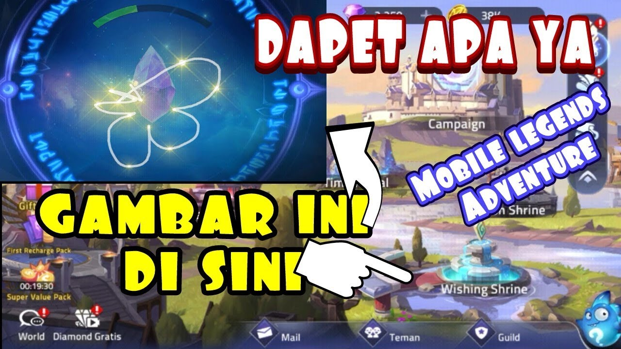 gambar sesuatu di wishing shrine game mobile legends