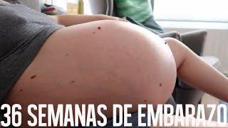 EMBARAZO MELLIZOS - 36 semanas de embarazo VLOG | Mamá Ingen…