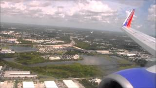 Southwest Airlines Landing Tampa Bay