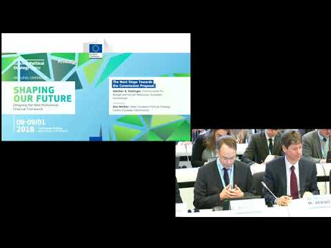 A Budget to Shape Our European Future (Session C - Shaping Our Future: Designing the Next MFF)