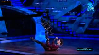 Raghav Croc-Roaz 'Robotic' On Dance India Dance 3 15th April 2012
