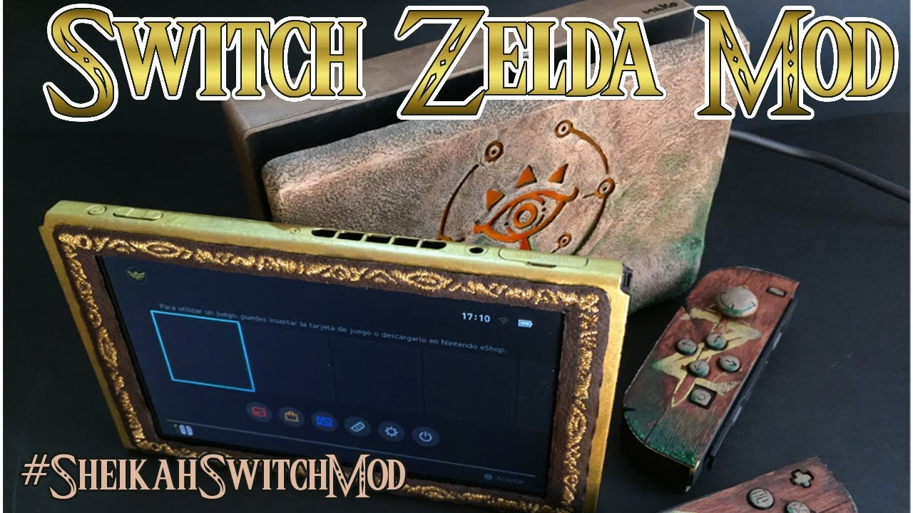 Analisis De La Nintendo Switch Modificada Al Estilo Zelda De