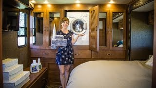 RV Quick Tip - How the Washer-Dryer Combo Works