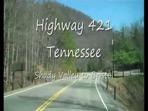 Highway 421 Tennessee Bristol to Shady Valley