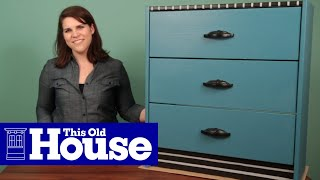 How to Make an Art Deco-Style Dresser