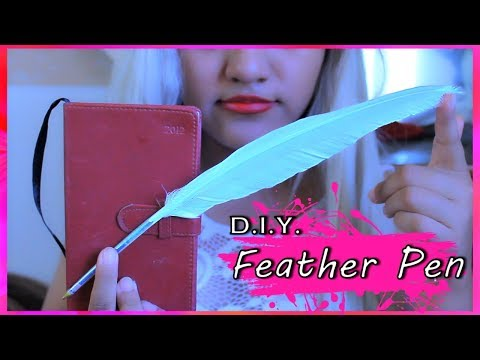 D.I.Y. Feather Pen (EASY)