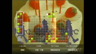 Lumines Plus PlayStation 2 Gameplay - Lego