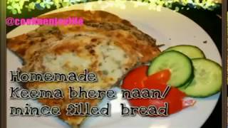 Keema naan recipe | easy naan recipe  @Samee cooking recipes