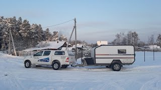 Тест-драйв Фотон Тунланд и Via Lander / Test drive Foton Tunland & off road trailer Via Lander