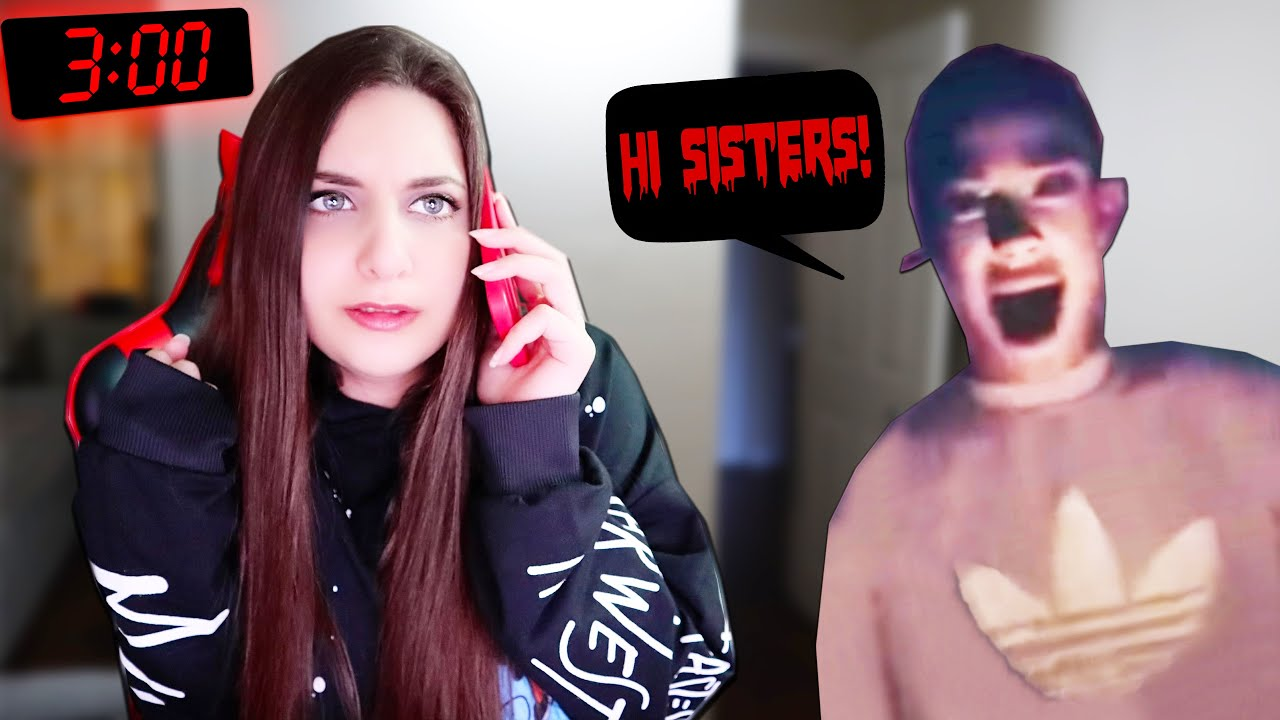DO NOT CALL JAMES CHARLES AT 3 AM IN ROBLOX! *WARNING SCARY* | Roblox Horror Game