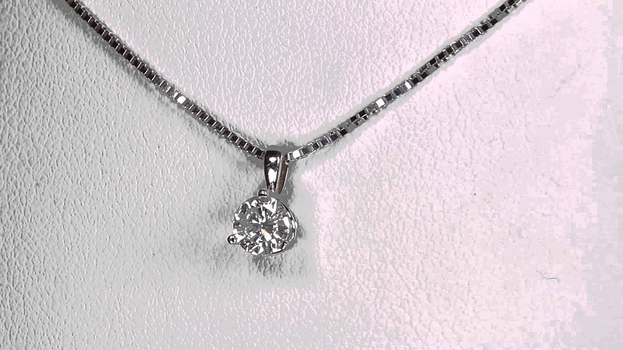 diamond wg catalog solitaire necklace pendant carat
