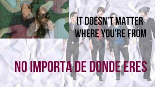Big Time Rush - 24 Seven (Letra -Lyrics) [Spanish and English]