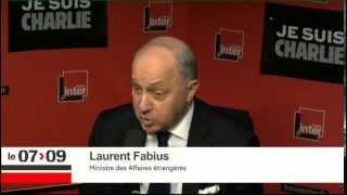 Interactiv' Laurent Fabius Les gestes contre les mosquées sont inadmissibles