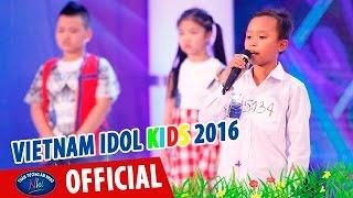 vietnam idol kids - than tuong am nhac nhi 2016 - ho van cuong gap su co quen loi