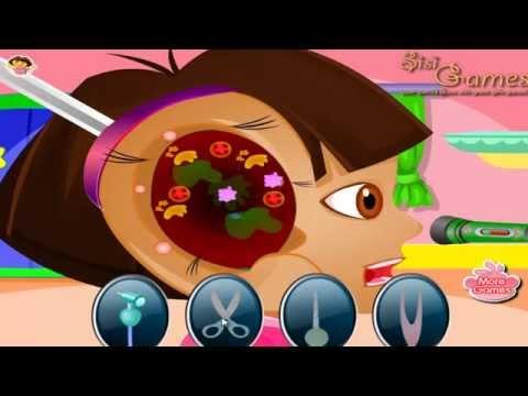 Dora The Explorer Game - Dora Ear Doctor Game Play - Dora Games For Kids