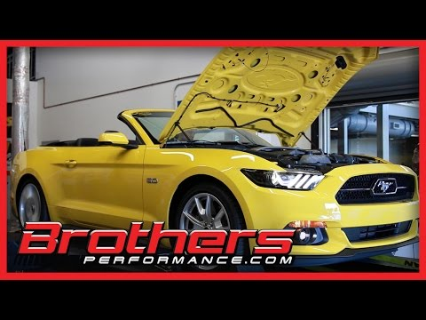 2015 Mustang GT 5.0 Automatic Dyno Test At Brothers Performance