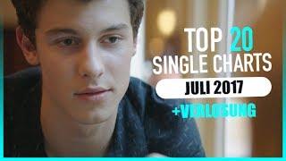 TOP 20 SINGLE CHARTS - JULI 2017   AKTUELLE CHARTS