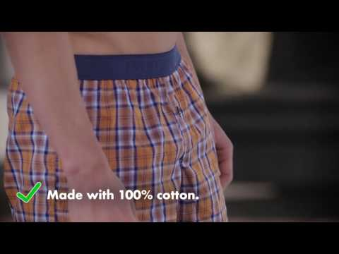 Cotton Men's Boxers by Fruit of the Loom