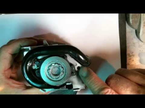 Airbag Systems How To Repair A Seatbelt Pretensioner Black