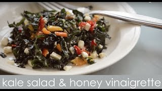 Kale Salad Recipe With Honey Vinaigrette