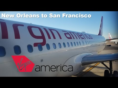 TRIP REPORT   Alaska Airlines   Airbus A320   New Orleans to San Francisco   Economy