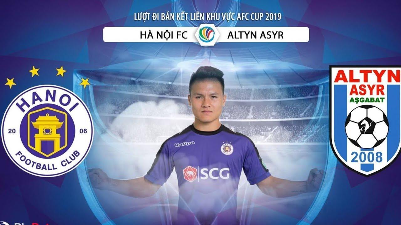Trực tiếp trước trận bóng đá AFC Cup Hà Nội - CLB 25/4: Thái Quý đá thay Văn Hậu & Văn Dũng