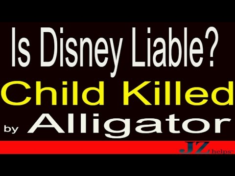 Is Disney Liable for Child Killed by Alligator?