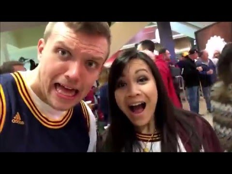 Cleveland Trip Part #3 GAMEDAY: Day In The Life w/ Girlfriend