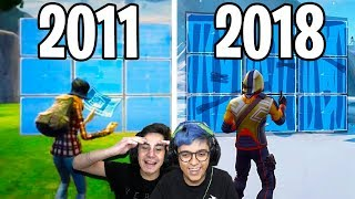 EVOLUÇÃO DO FORTNITE! 2011 a 2018