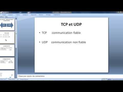 Cours Réseaux – Etude de TCP UDP et la notion de Port