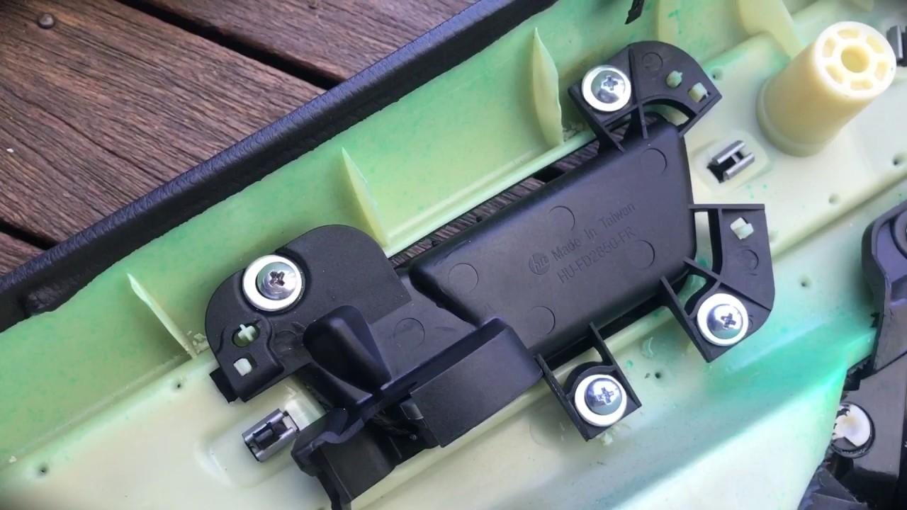 Fg falcon door handle repair youtube - How to remove exterior door knob ...