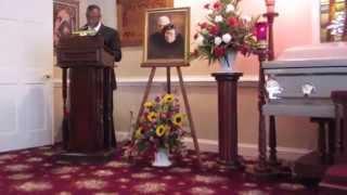 Pastor Roland Barnes' Opening Prayer @ Bernard Fred Barnes' Funeral