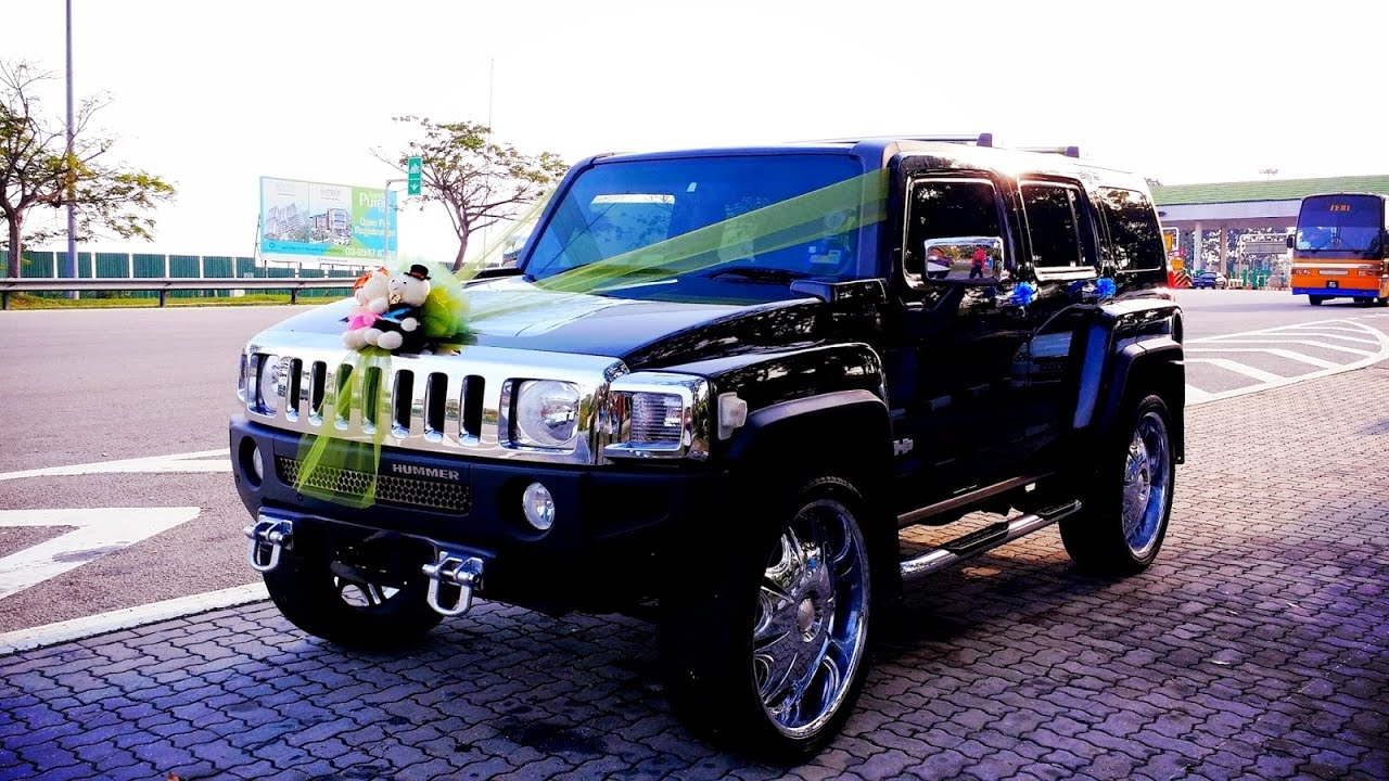 hummer h2 wedding car dangerous review 2017 youtube
