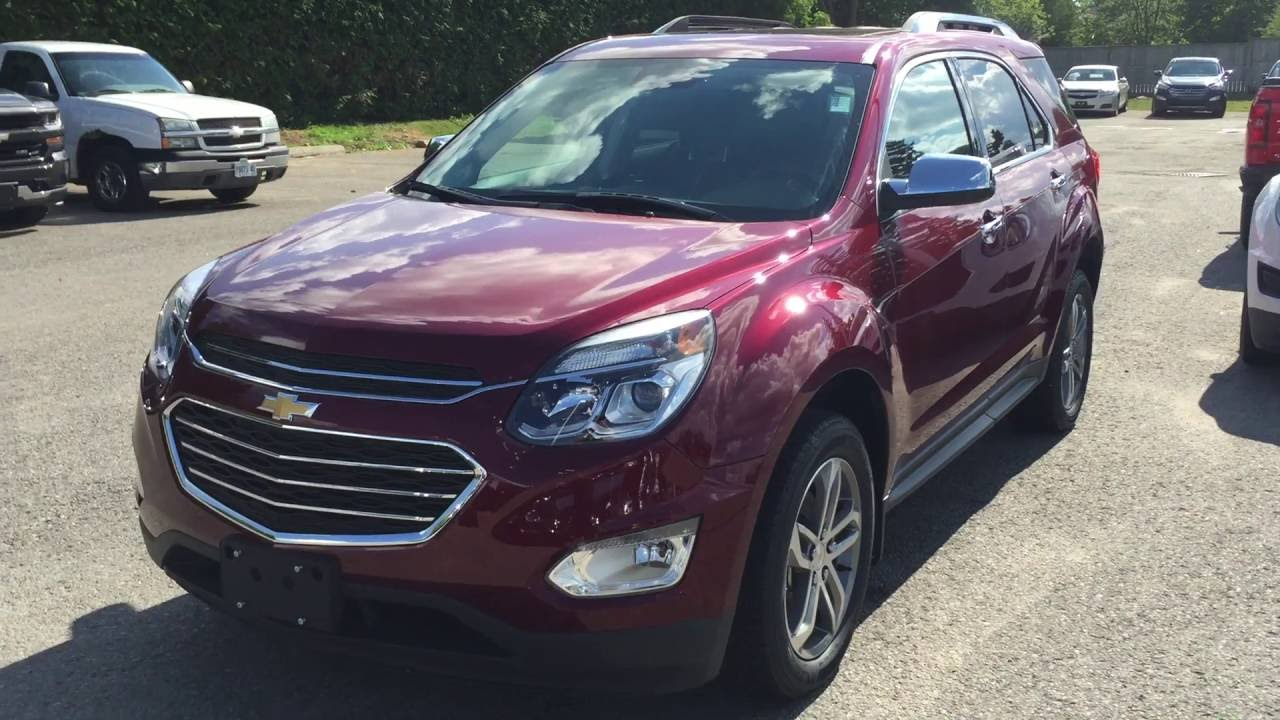2017 chevrolet equinox awd premier siren red tintcoat roy. Black Bedroom Furniture Sets. Home Design Ideas