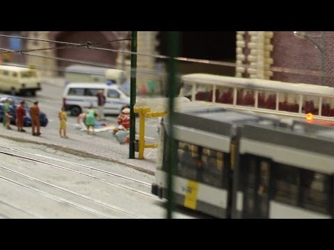 H0 Modellbahn - Antwerpen  European Railway Group H0 Layout