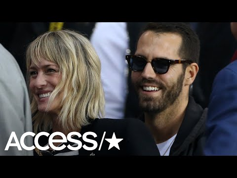 Robin Wright Reportedly Marries French Boyfriend In An UltraSecret Wedding