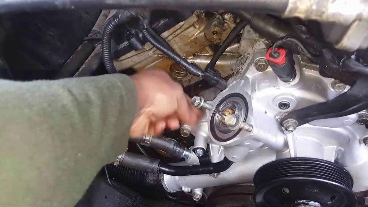 tips    replace  water pump   ram  youtube