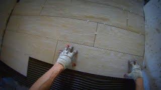 видео Как быстро положить плитку