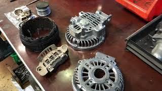 Qayta tiklash, Ta'mirlash Alternator Mazda Lf1818300, lb1318300, l8y318300, 2002-07 G. a3tg0081 6 gg