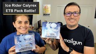 Pokémon Ice Rider Calyrex Elite Trainer Box (ETB) Comparison and Pack Battle!