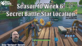 Fortnite WEEK 6 SECRET BATTLE STAR LOCATION GUIDE SEASON 10 - The Return Challenges