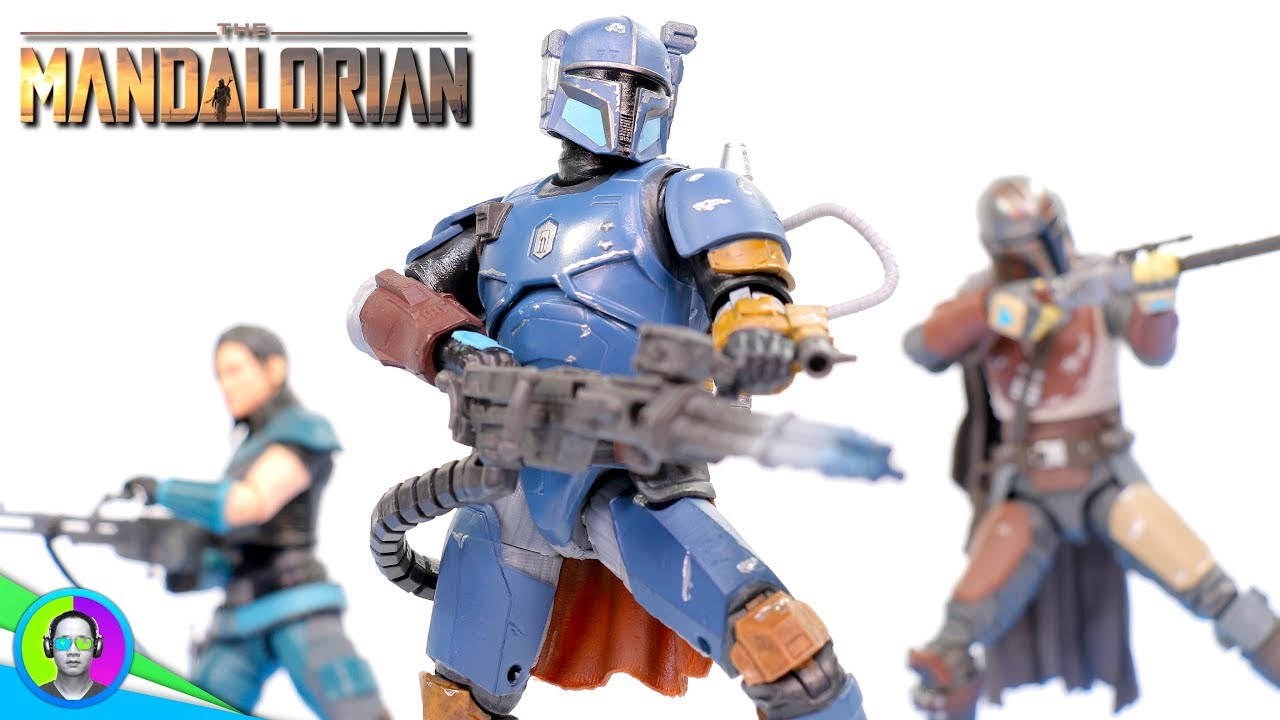 Star Wars The Black Series Heavy Infantry Mandalorian 6-inch Action Figure New