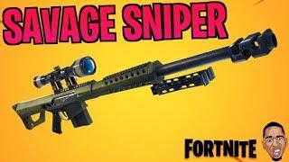 NEW LEGENDARY HEAVY SNIPER | Fortnite Battle Royale