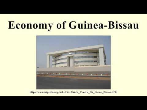 Economy of Guinea-Bissau