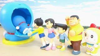 ドラえもんたちがドラえもんの中にすぽすぽ入っていくDoraemon Step into Doraemon Case